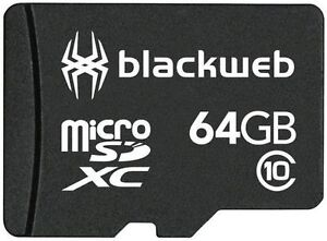 Blackweb MicroSD card - 64 GB - Class 10
