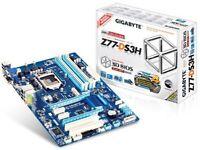 Intel Z77 gigabyte ds3h motherboard. socket LGA1155