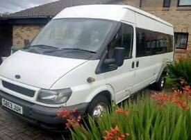 Swap ford transit minibus for small car