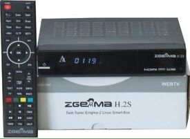 Zgemma H2s recordable box with 12-MONTHS DOUBLE gifts
