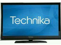 "Technika 32"" lcd tv built in freeview full hd 1080p."