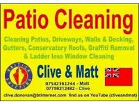 Bristol Patio Cleaning. 07759212482. Clive.