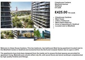 Modern two bedroom apartment in Stratford