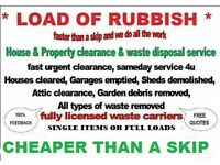 RUBBISH CLEARANCE HOUSE GARAGE GARDEN SHED PROBATE OFFICE SHOP SKIP HIRE WASTE READING BERKSHIRE