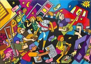 Chambre coop d'artistes