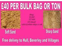 sharp sand / soft sand