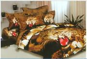 Leopard Print Quilt Cover