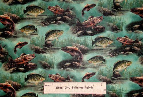 Fish Fabric Ebay