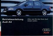 Audi A4 B5 Bedienungsanleitung