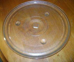 (2) - Microwave Glass Turntable Plates