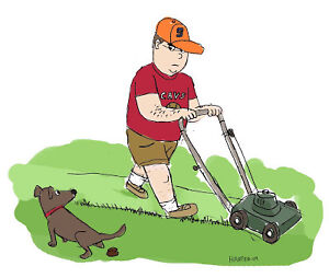 PRINCESS POOP DOG WASTE REMOVAL AND GRASS CUTTING