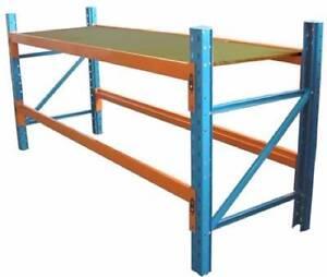 Unirack - Pallet racking work bench 2591 x 838 Ferryden Park Port Adelaide Area Preview