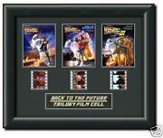 Back to The Future Film Cell