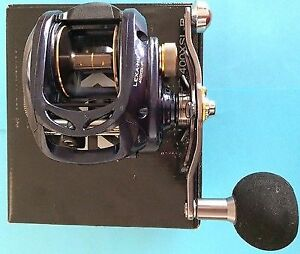 Daiwa LEXA HD 400 High Speed Left Hand Pike Muskie Musky reel