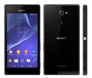 sony xperia m2 NEUF noir cellulaire smart cell phone black NEW