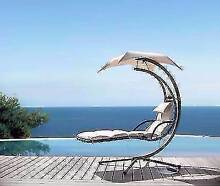 Luxamore Hanging Chair in Red or Beige Colours. Local Delivery. Maroochydore Maroochydore Area Preview