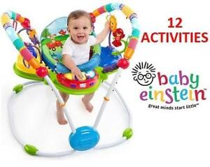NEW BABY EINSTEIN ACTIVITY JUMPER 60184 200173337 NEIGHBORHOOD FRIENDS CHILDREN CHILD TODDLER SEAT CHAIR