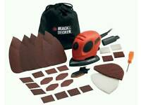 Black & Decker Mouse Sander (NEW) - Free delivery