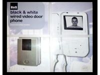 Night Vision CCTV Video Door Monitor, with Free 32in HITACHI LD6600-B HDMI TV