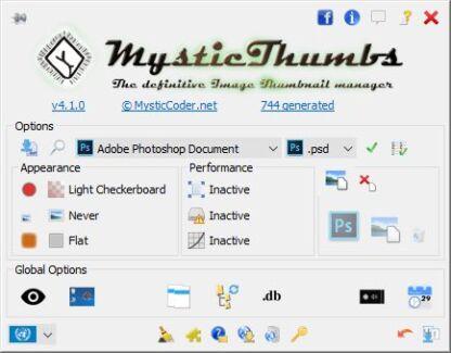 MysticThumbs - Image Thumbnails for Windows Explorer