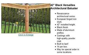 Looking for balusters bronze or black