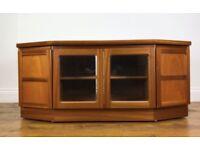 Retro Teak TV Unit Vintage G Plan Nathan Hifi Cabinet Stand Table
