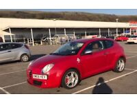 Alfa Romeo MiTo, 1.4, 2009, new MOT