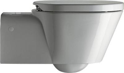 Catalano Verso 1VSHE 1-Piece Wall Mount Toilet White W/ Toilet Seat
