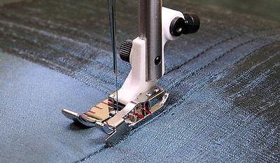 1/4 Edge Stitching Foot Viking Husqvarna Sewing Machine– 4129141-46 Fits #7***