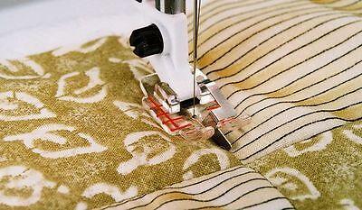 Viking Husqvarna Sewing Machine Clear Stitch in Ditch Foot 412-9274-46***