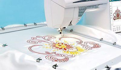 Designer Majestic Hoop For Husqvarna Viking Embroidery Machine 360 x 350mm