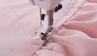 Viking Husqvarna Sewing Machine Clear B Edge Stitching Foot 4130583-45 - 1-7***