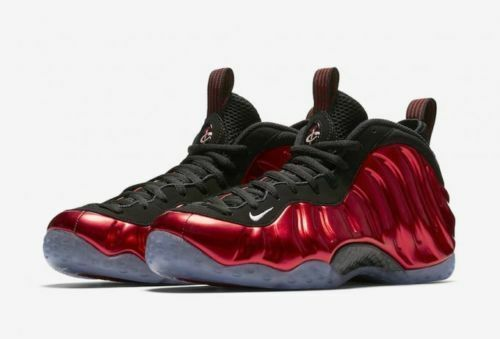 cheaper 32fc9 b1a47 Nike Air Foamposite Metallic one Red Candy 314996-610 Men Size  10 New