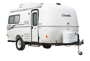 Trailer with Rounded Seamless Roof,  Casita, Scamp etc