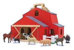 Wooden Toy Barn Ebay