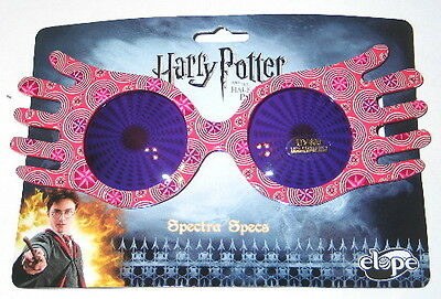 Harry Potter Half Blood Prince  Luna Lovegood Spectra Specs Glasses  New Unused