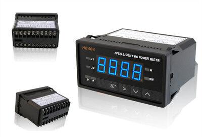 Programmable Digital Dc Power Watt Meter Blue Led W Control