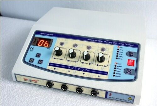 New-Professional-Home-use-4-channel-Electrotherapy Pulse-Massager Machine Digita