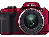 Fujifilm FinePix S Series S8650 16.0MP Digital Camera -Red