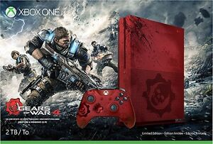 BRAND NEW Xbox One S 2TB Console Gears of War 4 + NHL17