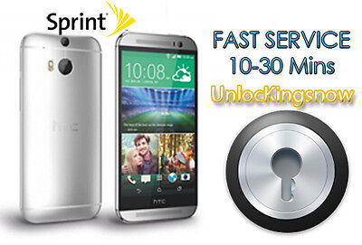 Remote Unlock Service for HTC Sprint A9 Bolt One M7 M8 M9 U11 and many more