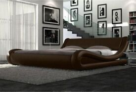 Modern Italian King Size Bed Brand New