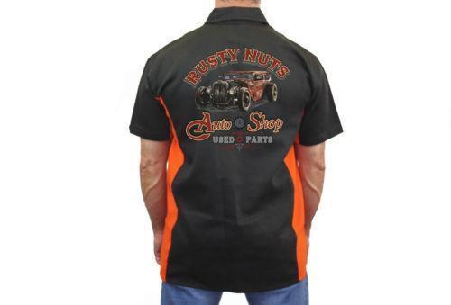 Vintage Mechanic Shirt Ebay
