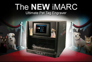 PET TAG ENGRAVING MACHINE. (iMARC) FOR SALE