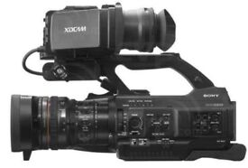 Sony PMW-300 Professional 422 HD XDcam Shoulder mount Camcorder in box + extras