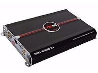 New - DS18 GEN-6000.1D 6000 Watts One-Channel/Monoblock Class D Amplifier with Bass Remote