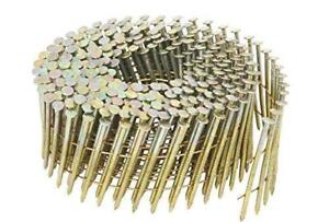 NEW Hitachi 13334 1-3/4-Inch x 0.092-Inch Ring Shank Electro-Galvanized Wire Coil Siding Nails