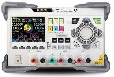 Rigol Dp832a 3 Outputs Programmable Dc Power Supply 195w 350 Uvrms2mvpp