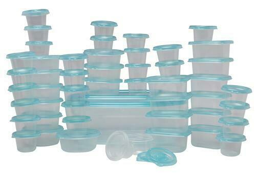 food storage container set 100 pcs bpa