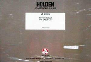 Holden Commodore Calais VT 1997 Factory Wiring Manual : Vol 8 Blacktown Blacktown Area Preview